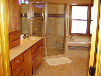 topeka bathroom remodeling - handymasters, inc. the right